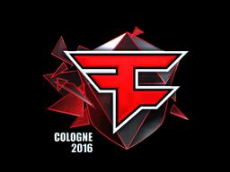 Sticker   FaZe Clan (Foil)   Cologne 2016