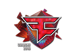 Sticker   FaZe Clan (Holo)   Cologne 2016