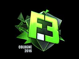 Sticker   Flipsid3 Tactics (Foil)   Cologne 2016