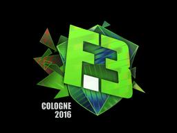 Sticker   Flipsid3 Tactics (Holo)   Cologne 2016