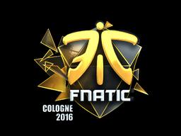 Наклейка   Fnatic (металлическая)   Кёльн 2016