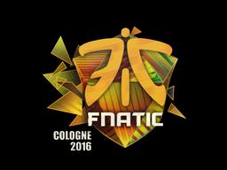 Наклейка   Fnatic (голографическая)   Кёльн 2016
