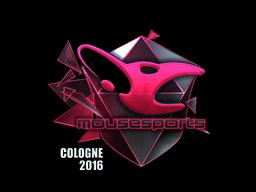 Sticker   mousesports (Foil)   Cologne 2016