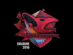 Sticker   mousesports (Holo)   Cologne 2016