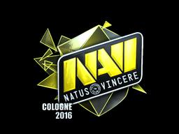 Наклейка   Natus Vincere (металлическая)   Кёльн 2016
