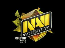 Наклейка   Natus Vincere (голографическая)   Кёльн 2016