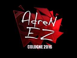 Наклейка   AdreN (металлическая)   Кёльн 2016