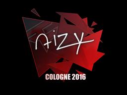 Наклейка | aizy | Кёльн 2016