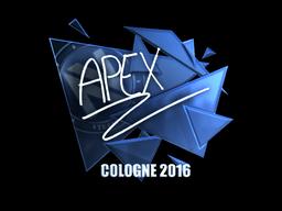 Наклейка   apEX (металлическая)   Кёльн 2016