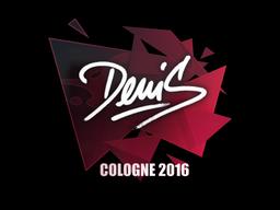 Наклейка | denis | Кёльн 2016