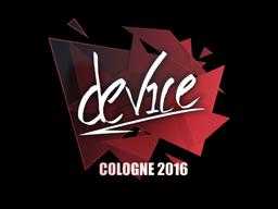 Sticker | device | Cologne 2016