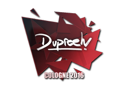 Sticker | dupreeh | Cologne 2016