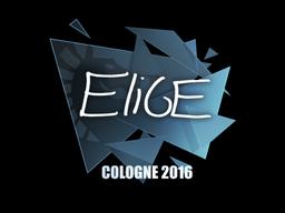 Sticker   EliGE   Cologne 2016