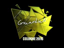 Sticker | GuardiaN (Foil) | Cologne 2016