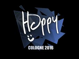 Sticker | Happy | Cologne 2016