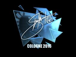 Sticker | Hiko (Foil) | Cologne 2016