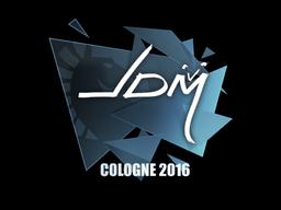 Sticker   jdm64   Cologne 2016