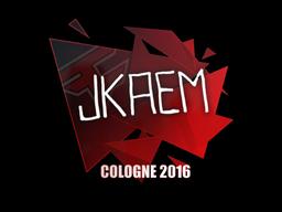 Наклейка | jkaem | Кёльн 2016