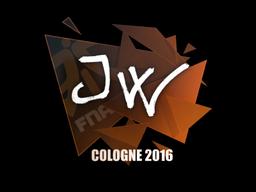 Наклейка   JW   Кёльн 2016