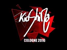 Наклейка   kioShiMa (металлическая)   Кёльн 2016