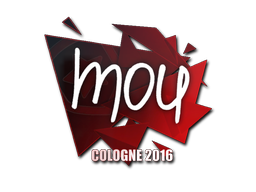Наклейка | mou | Кёльн 2016