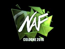 Наклейка   NAF (металлическая)   Кёльн 2016