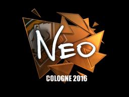 Sticker | NEO (Foil) | Cologne 2016