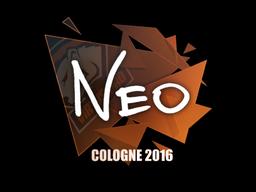 Наклейка   NEO   Кёльн 2016