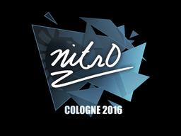 Sticker   nitr0   Cologne 2016