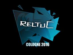 Наклейка | reltuC | Кёльн 2016