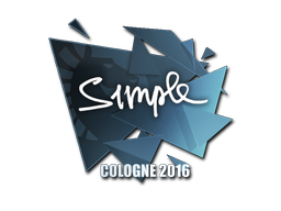 Sticker   s1mple   Cologne 2016