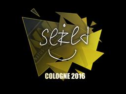Sticker | seized | Cologne 2016