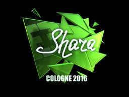 Наклейка   Shara (металлическая)   Кёльн 2016