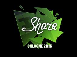 Наклейка | Shara | Кёльн 2016