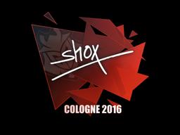 Наклейка | shox | Кёльн 2016