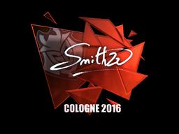 Наклейка   SmithZz (металлическая)   Кёльн 2016