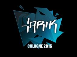 Наклейка | tarik | Кёльн 2016