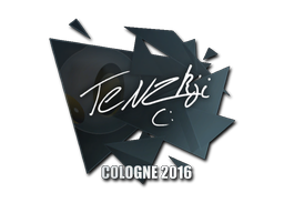 Наклейка | TENZKI | Кёльн 2016