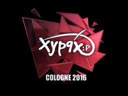 Sticker | Xyp9x (Foil) | Cologne 2016