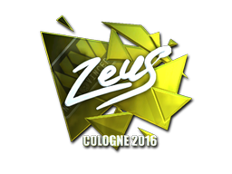 Sticker | Zeus (Foil) | Cologne 2016