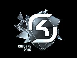 Наклейка   SK Gaming (металлическая)   Кёльн 2016
