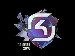 Наклейка   SK Gaming (голографическая)   Кёльн 2016