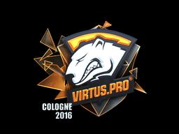 Наклейка   Virtus.Pro (металлическая)   Кёльн 2016