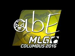 Sticker | abE (Foil) | MLG Columbus 2016