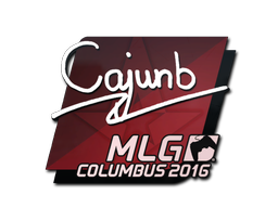 Наклейка | cajunb | Колумбус 2016