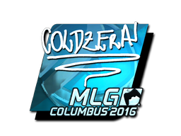 Sticker | coldzera (Foil) | MLG Columbus 2016