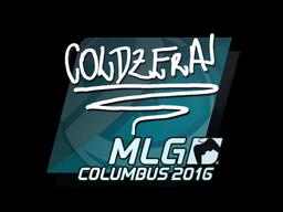 Sticker | coldzera | MLG Columbus 2016