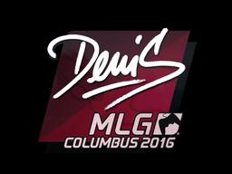 Sticker | denis | MLG Columbus 2016