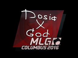 Наклейка   Dosia   Колумбус 2016