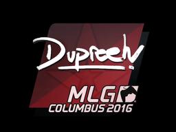 Наклейка | dupreeh | Колумбус 2016